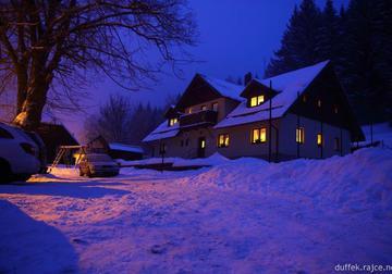 Horská chata u Sněhuláka