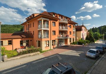 Lázeňský hotel Vila Antoaneta Luhačovice