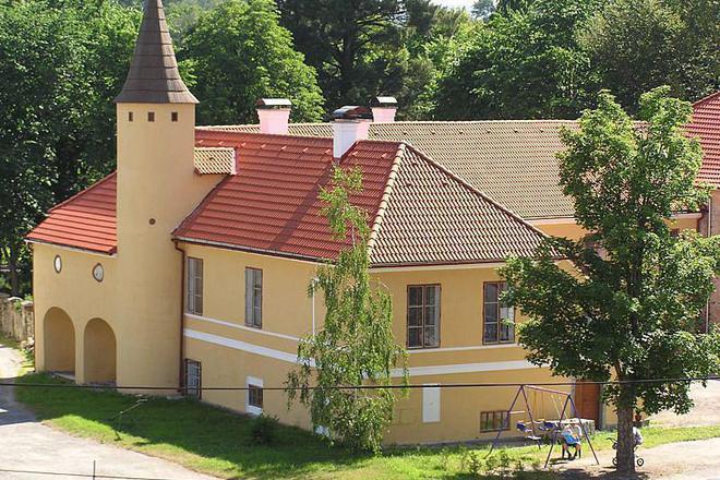 Ubytování na zámku foto 1